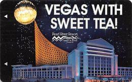 Pear River Resort & Casino - Choctaw, MS - Hotel Room Key Card - Hotelkarten
