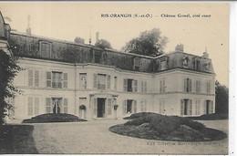 91, Essonne, RIS ORANGIS, Château Gomel, Côté Ouest, Scan Recto-Verso - Ris Orangis