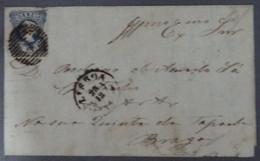 Portugal - Lisboa > Braga - Porto 1854 - D. Maria 25r - Brieven En Documenten