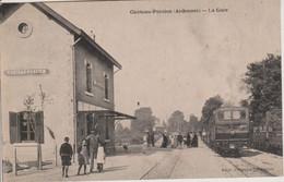 08 - CHATEAU PORCIEN - LA GARE - Chateau Porcien