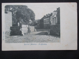 CP BELGIQUE (V1903) ST GHISLAIN (2 Vues) Rue De L'Abattoir - Edit. DVD 5939 - Saint-Ghislain