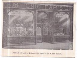 Laigle (Orne) - AU CHIC PARISIEN - Maison Pépé GONZALEZ, 4 Rue Carnot - (devanture En Gros Plan) - L'Aigle - Non Classificati