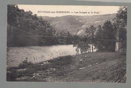 CPA - 19 - Brivezac-sur-Corrèze - Gorges Et Pont - Andere Gemeenten
