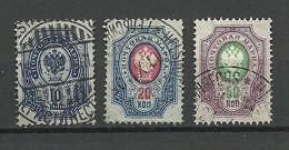 FINLAND FINNLAND Russia Michel 43 X (1889) 41 - 42 Y (1904) Used In Finland O Helsinki - 1856-1917 Russische Verwaltung