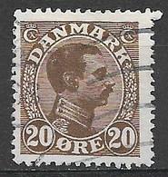 Denmark 1921. Scott #104 (U) King Christian X - Usati