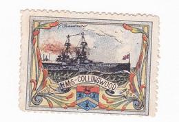 Vignette Militaire Delandre - Grande Bretagne - H.M.S. Collingwood - Militario