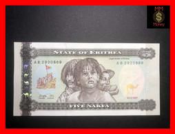 ERITREA 5 Nakfa 24.5.1997  P. 2  UNC - Eritrea