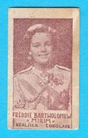 FREDDIE BARTHOLOMEW (American Actor) - Yugoslavian Kingdom Vintage Pre-WW2 Card (chocolate) RRRR - Zonder Classificatie