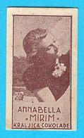 ANNABELLA ( French Film Actress ) - Yugoslavian Kingdom Vintage Pre-WW2 Card (chocolate) * Movie France RRRR - Zonder Classificatie