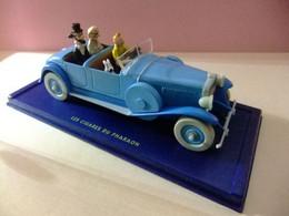 TINTIN VOITURE LINCON TORPEDO LES CIGARES DU PHARAON - Tintin