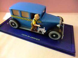 TINTIN VOITURE TAXI CHECKER TINTIN EN AMERICA - Tintin