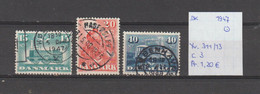 Denemarken 1947 - Yv. 311/13 - Mi. 298/300 Gest./obl./used - Usati
