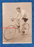 Photo Ancienne Vers 1910 - Vélodrome à Situer - Beau Portrait De Michel LAIR ? - Coureur Cycliste Sur Piste - TOP - Vélo - Radsport