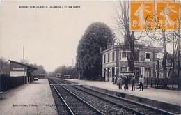 Cpa BOISSERIE L AILLERIE 95 La Gare - Côté Voies - - Boissy-l'Aillerie