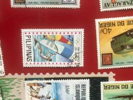 FILIPPINE IL WINDSURF 1 VALORE - Briefmarken