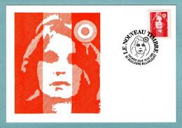 Carte Maximum 1993 -   Marianne Du Bicentenaire ( Briat) - Validité Permanente YT 2806  - 92 Boulogne Billancourt - 1990-99