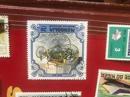 MONGOLIA AUTO STORICHE  1 VALORE - Briefmarken