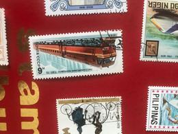 URSS IL TRENO  1 VALORE - Briefmarken