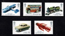 Great Britain 2003 Transports Of Delight Set Of 5 MNH - 1952-.... (Elizabeth II)