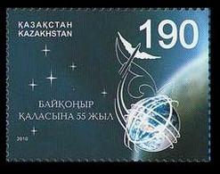 2010Kazakhstan 68155 Years Cosmodrome Baikonur3,10 € - Raumfahrt