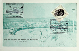 1971 Angola Dia Do Caminho De Ferro De Moçâmedes / Moçâmedes Railway - Sonstige