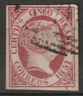 Spain 1851 Sc 9 Ed 9 Used - Gebraucht