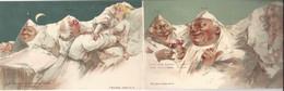 """CPA (suisse) ILLUSTRATEUR """" KILLINGER """" - Carte De 3 Cartes Du JUNGFRAU Postkarte - Surréalisme 113, 114, 115 - Other"""