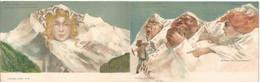 """CPA (suisse) ILLUSTRATEUR """" KILLINGER """" - Carte De 2 Cartes Du EISENBAHNER Postkarte - Surréalisme 111, 112 - Other"""
