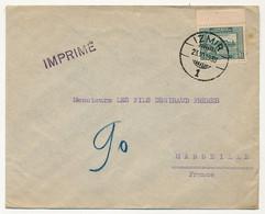 TURQUIE - Enveloppe Pour Marseille (France) 1930 - IZMIR - Tarif Imprimés - Briefe U. Dokumente