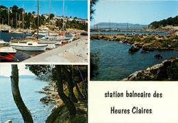 Istres, Sur Les Bords De L'étang De Berre, Les Heures Claires (scan Recto-verso) KEVREN0200 - Istres