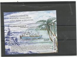 BLOC FEUILLET   HAWAIKI  Et LANGLADE   Beau Cachet    (clasA  30) - Frans-Polynesië