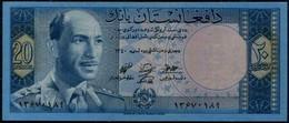 Afghanistan 20 Afghanis King Md. Zahir Banknote 1961 #p42 UNC - Afghanistan