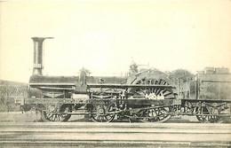 Thème Train Locomotive Nord N°136 D'Orsay CP Ed. H.M.P. N°284 Vapeur Steam - Trains