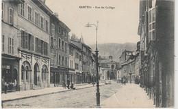 DEPT 01 : Laloge Photo A Nantua ; Rue Du Collège - Nantua