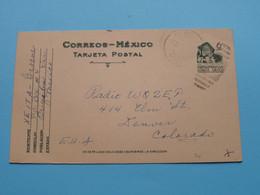 XEITA George MEXICO > WOZEP > 1947 Denver Colorado USA ( See / Voir Photo ) - Radio Amatoriale
