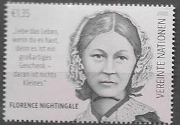 UN, 2020, MNH, INTERNATIONAL DAY OF NURSES AND MIDWIVES, FLORENCE NIGHTINGALE, 1v - Sonstige