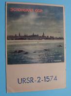 URSR-2-1574 > WOZEP > 1949 Moscow Post Box 88 USSR ( See / Voir Photo ) - Radio Amatoriale
