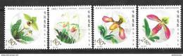 CHINA  2001 FLOWERS STAMPS SET MNH - China