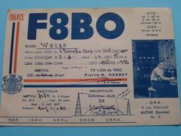 FRANCE F8BO Pierre-R. Herbet AUTHIE Somme > WOZEP > USA Colorado 1947/48 ( See / Voir Photo ) - Radio Amatoriale