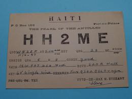 HAITI HH2ME M. Etheart Port Au Prince > WOZEP > USA Colorado 1947 ( See / Voir Photo ) - Radio Amatoriale
