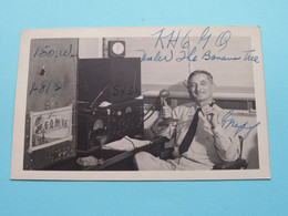 KH6GQ Under The Banana Tree > WOZEP > USA Pearl Harbor Griff 1947 ( See / Voir Photo ) - Radio Amatoriale