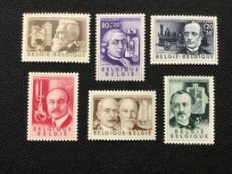 1955. OBP: 973/78.MNH. Les Inventeurs. - Unused Stamps