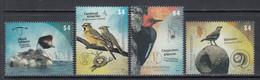 2013 Argentina Birds Oiseaux Complete Set Of 4 MNH - Ungebraucht