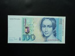 RÉPUBLIQUE FÉDÉRALE ALLEMANDE * : 100 DEUTSCHE MARK  2-1-1996   CA 310b, ** / P 46     SPL - 100 Deutsche Mark