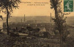 OUTREAU   - Panorama Des Usines Et Dépot Du Chemin De Fer - Sonstige Gemeinden