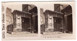Photo Stéréoscopique Vues D'Italie - S.135 1381 - Rome - Arc Des Changeurs - Stereoscopic