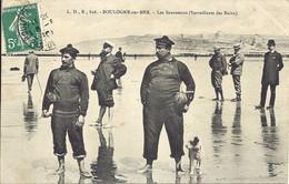 BOULOGNE  SUR MER  - Les Sauveteurs (Surveillants Des Bains) - L.D.B 826 - Rare - Boulogne Sur Mer