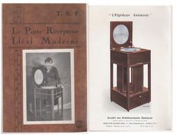 RARE  Le Poste Récepteur Idéal Moderne TSF   Gaumont - Música