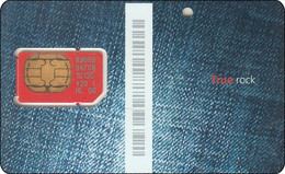 Thailand  Phonecard GSM Card TRUE Mint Rock - Thailand