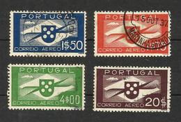 Portugal Poste Aerienne N°1, 2, 5, 9 Cote 23.60 Euros - Used Stamps